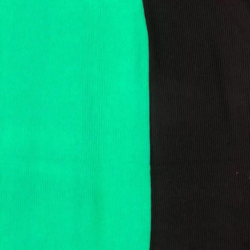 jurk met open schouders kleuren