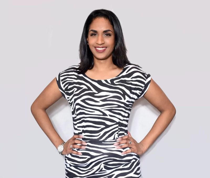 zebra print dames jurk