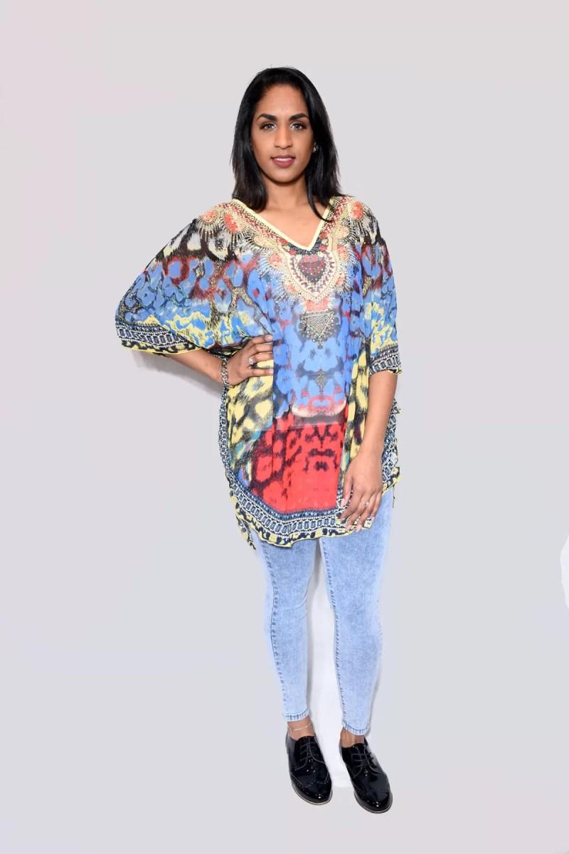 Vlinder model blouse