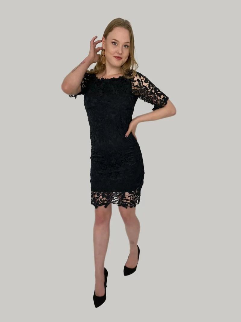 zwart-kante-jurk