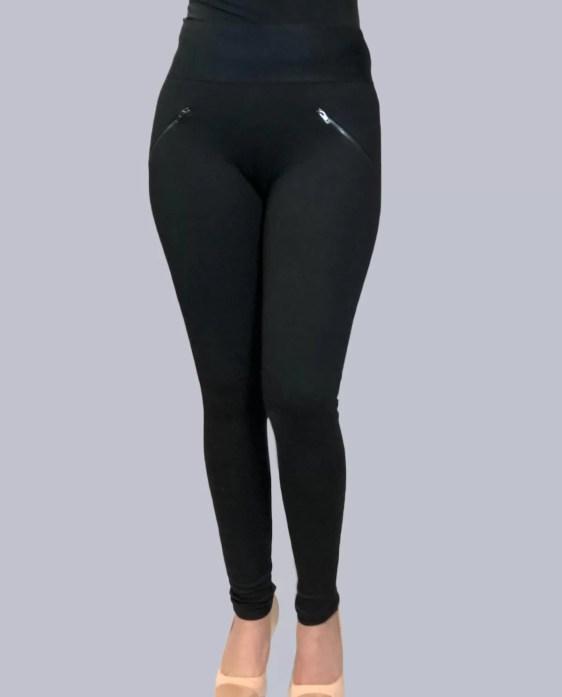 Zwarte Stretch Legging Broek