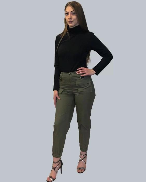 groen broek