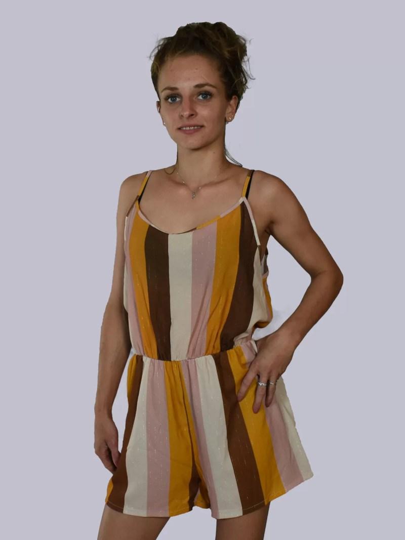 melon beige creme zomer dress