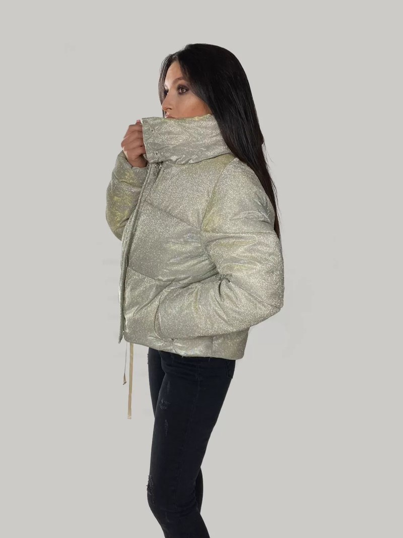 glitter jas dames