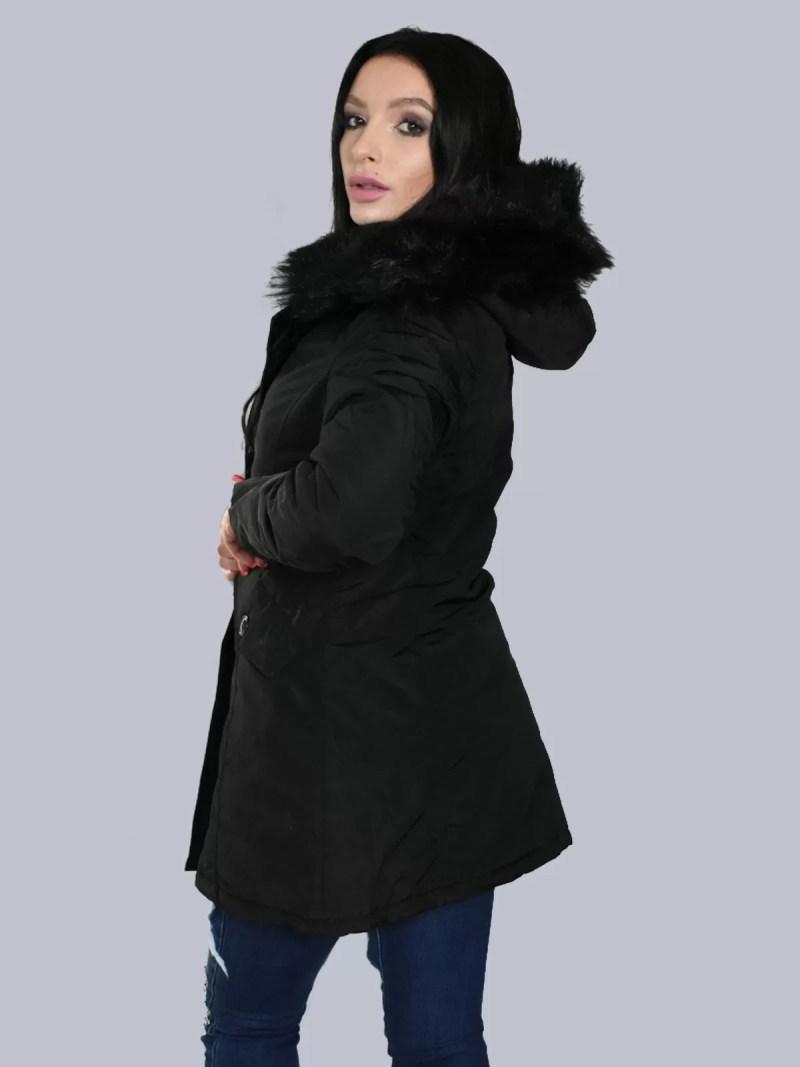 zwart-dames-winterjas
