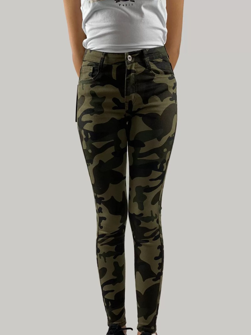 Camouflage-Broek