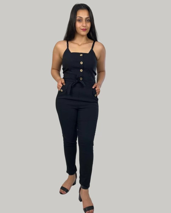 Strapless-jumpsuit-dames