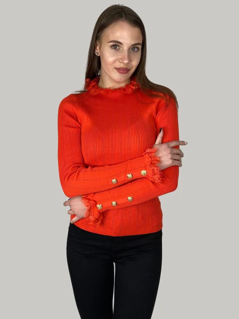 Gebreide-Topje-Casual-Shirt
