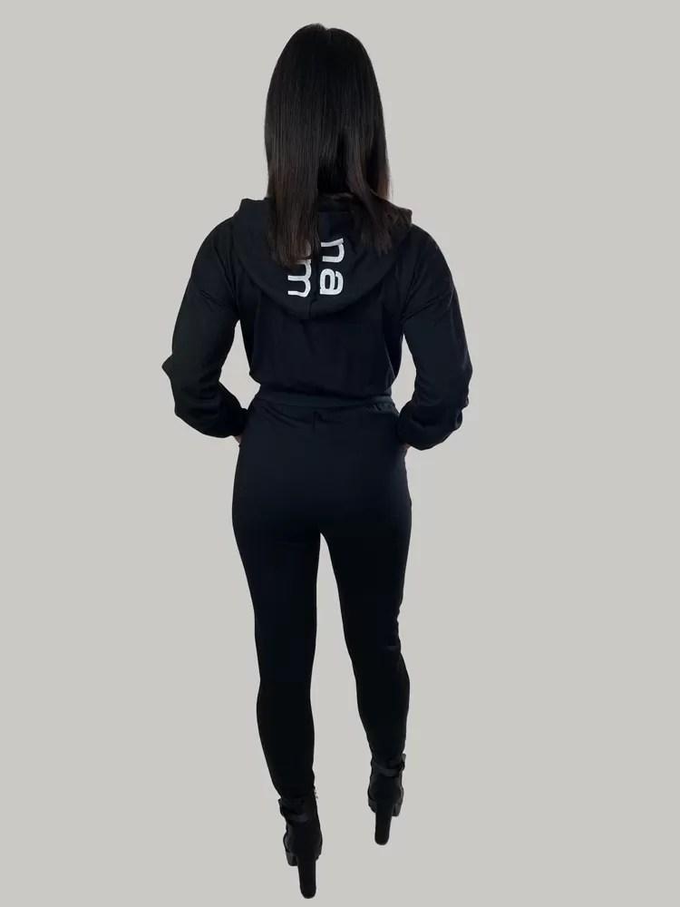 09 21 047 Jumpsuit Met Capuchon Voor Dames