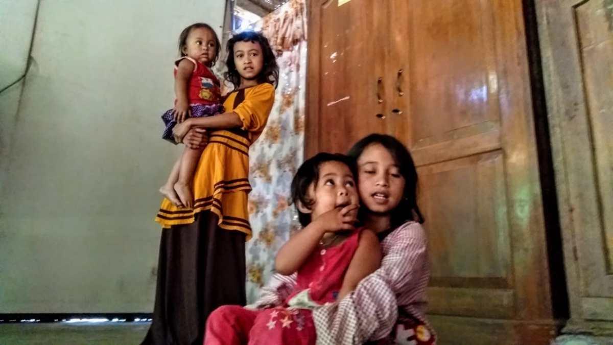 Empat Anak Yatim Bersaudara Tak Tersentuh Santunan Baznas Bondowoso