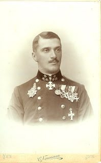 Picture of Albert Margutti in dress uniform.