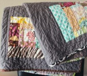 Picture of a quilt that helps when sleeping in the cold.  Photo by Jen Theodore