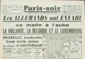 10 mai 1940, 4 h 35, l'armée allemande franchit la frontière luxembourgeoise