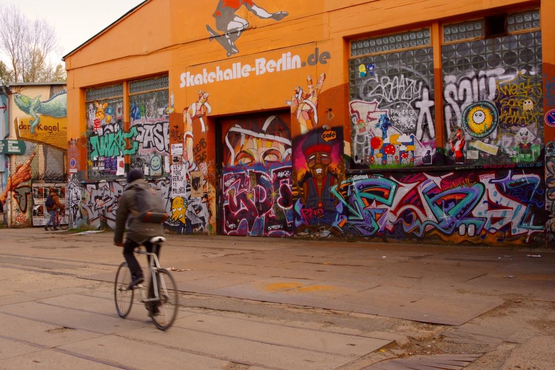 le skate park du RAW à Berlin