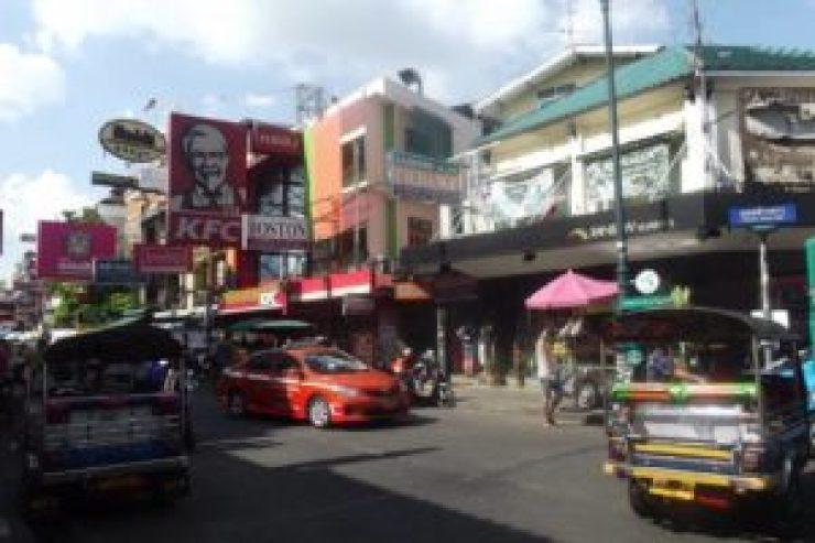 Bangkok Khoa San Road Thaïlande enfer