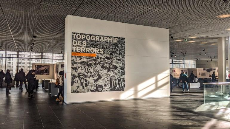 Le musée de la Topographie de la Terreur à Berlin