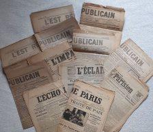 Journaux 1919