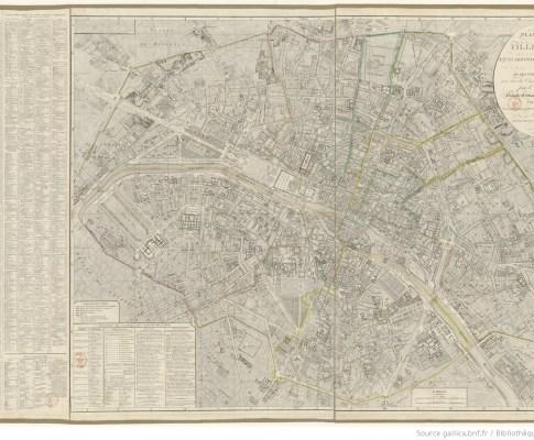 Les quartiers de Paris au temps de Gabriel Alexandre