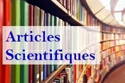 Articles Scientifiques