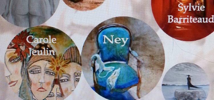 5 Artistes peintres exposent à la Halle des Chartrons au profit de la Fondation du Mémorial, Vernissage 1er juillet à 19h 30