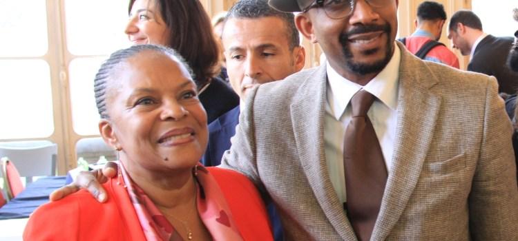 ChristianeTAUBIRA en soutien à la Villa Montaigne, futur lieu de partage des mémoires