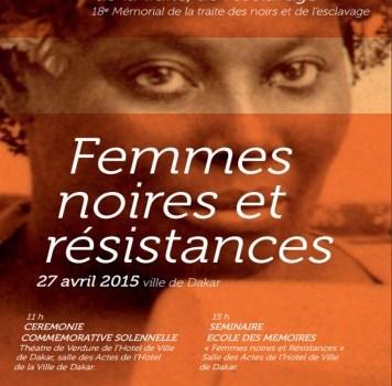 «FEMMES NOIRES & RESISTANCES»- 2ème Journée Nationale de commémoration de l'esclavage au Sénégal