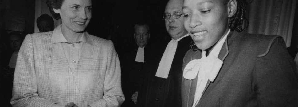 Quand Bordeaux primait NELSON MANDELA (27 avril 1985)