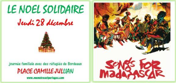 LE NOEL SOLIDAIRE – L'île Rouge en nous, 28 décembre, Place Camille Jullian