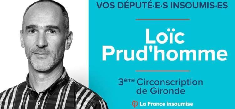 LA QUESTION DES RUES DE NÉGRIERS- Le Député Loic Prud'homme prend position…
