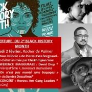 INAUGURATION #BHMBDX19 – David Diop & Amiri Baraka, 2 février, Rocher de Palmer