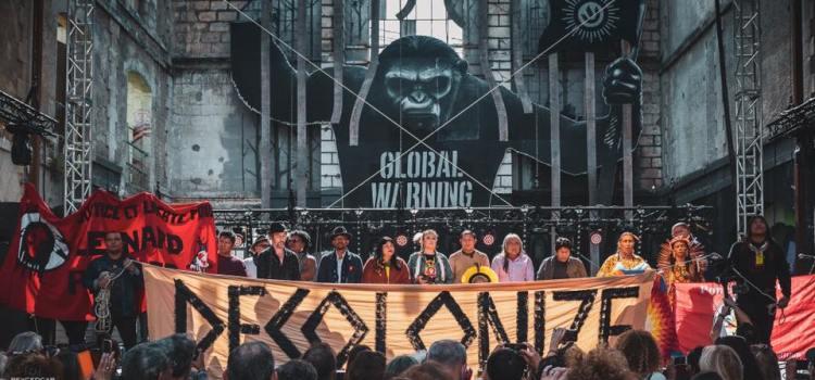 BORDEAUX – Des Amérindiens débaptisent la Caravelle El Galéon (photos-vidéo)