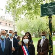 VIDEO – Inauguration de l'Allée en hommage au Tirailleur Claude Mademba-Sy par Anne Hidalgo, Maire de Paris