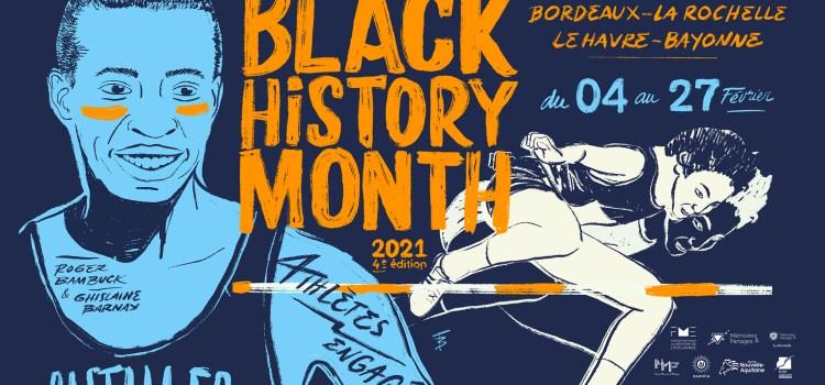 BLACK HISTORY MONTH 2021 – Le programme «Athlètes Engagé-e-s» dans quatre villes françaises