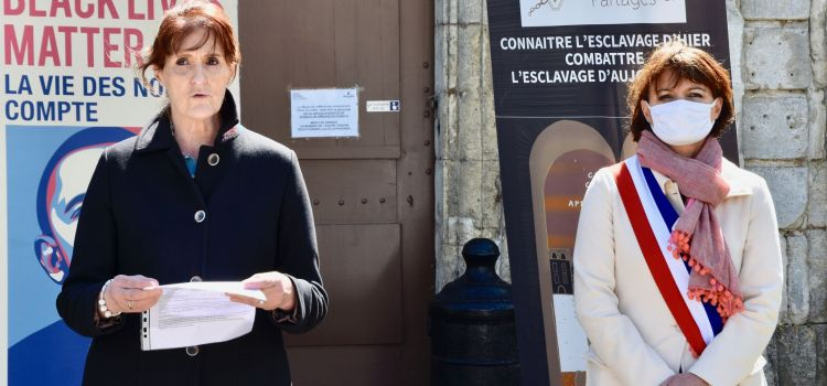 DISCOURS ABOLITION DE L'ESCLAVAGE – «Nous ancrer dans la lignée d'Olympe de Gouges» Frédérique Tuffnell, Députée de Charente-Maritime