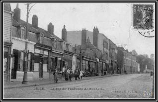 le magasin en 1906