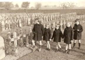 visite au cimetière militaire