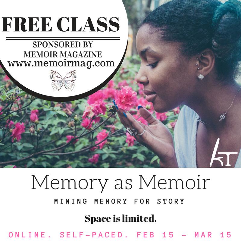 Memoir Magazine-Memory as Memoir Memoir Class
