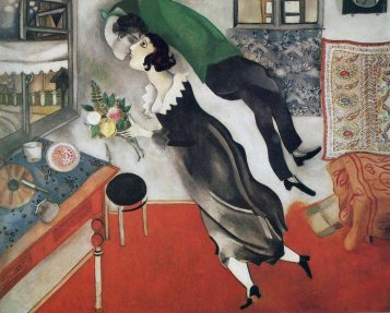 the-birthday By Marc Chagall, courtesy of MarcChagall.net