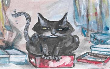 Cat By Imelda