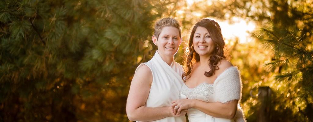 St. Clair County Backyard Wedding | Melissa & Nicole