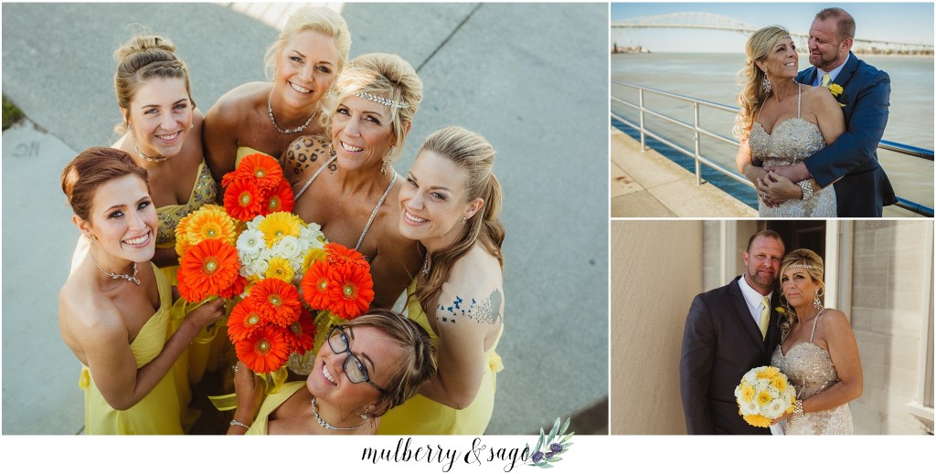 Rix's Roof Top Port Huron Wedding Photographer