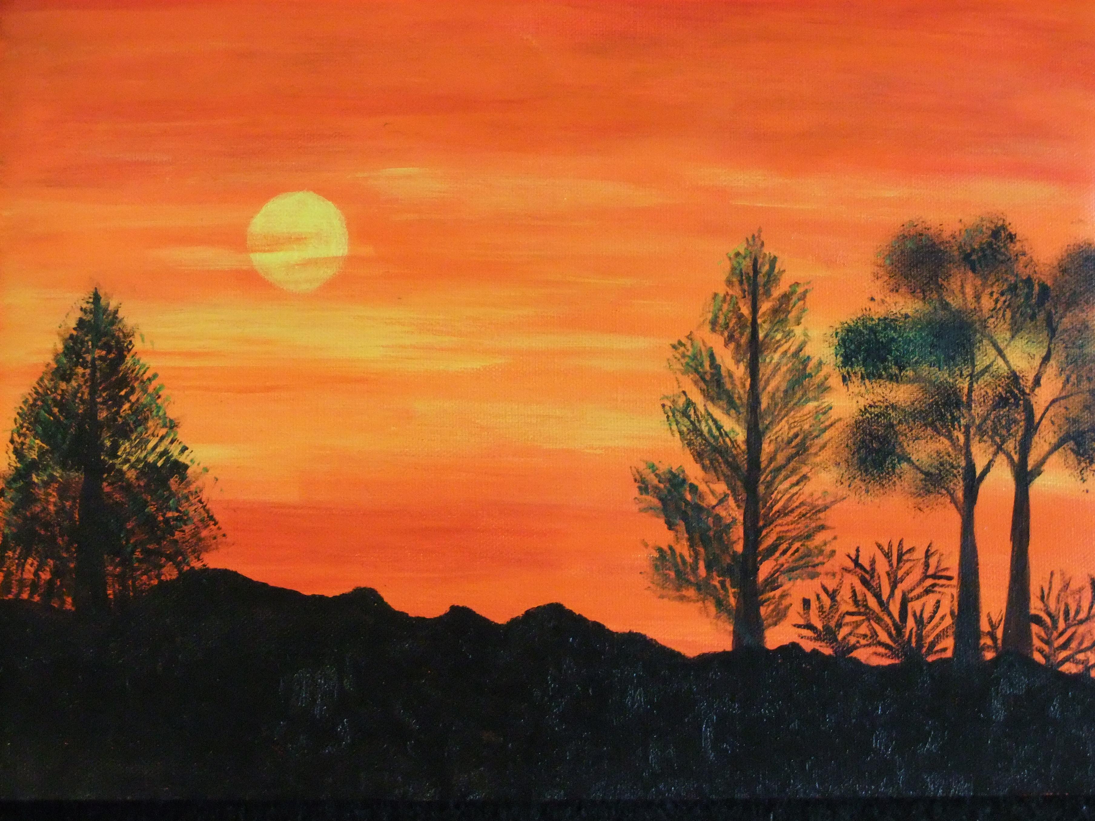 Monday Sunrise Blogging 100906 >> Easy Landscape Easy Landscapes Pictures 3 Easy Steps Adding