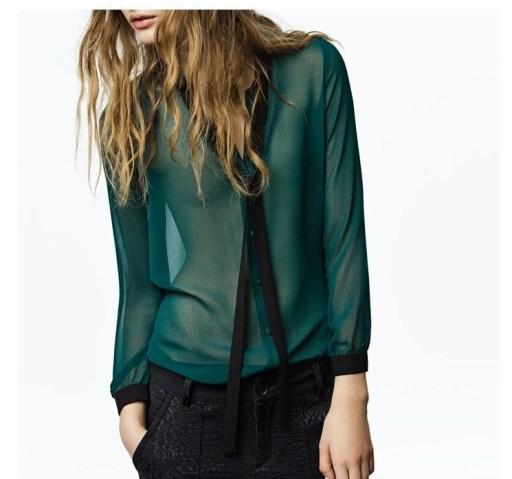 Drop-Shipping-Chiffon-Blouse-With-Bow-Collar-Fashion-Style-Girls-Women-Blouse-Long-Sleeve-Shirt
