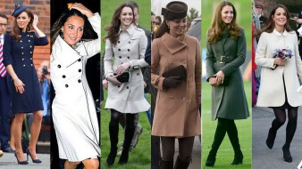 Kate's trench coats