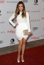 Khloe-Kardashian-in-Little-White-Dress