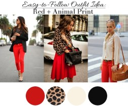 Red-+-Animal-Print-Outfit-Ideas