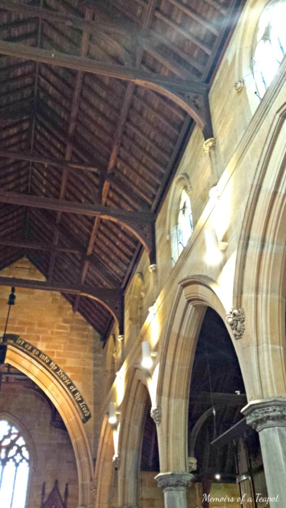 Gothic Church Vaulted Ceiling
