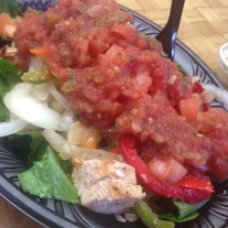 I like a little chicken with my salsa.