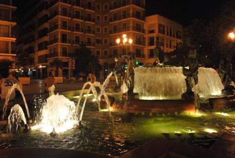 Fountain at Valencia