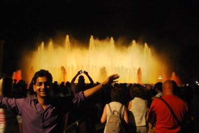 at Musical Fountain